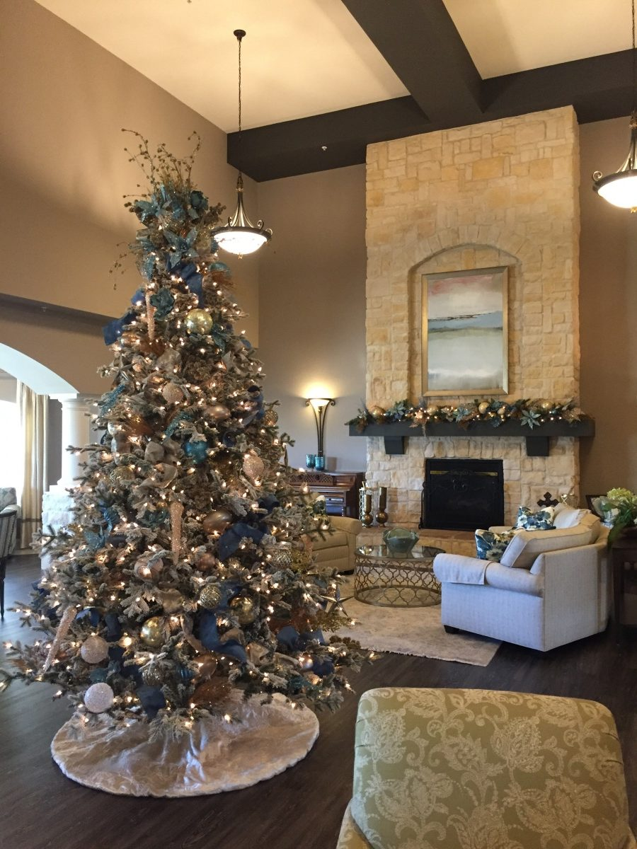 Baker Design Group Christmas Interior Design in Coppell, Texas